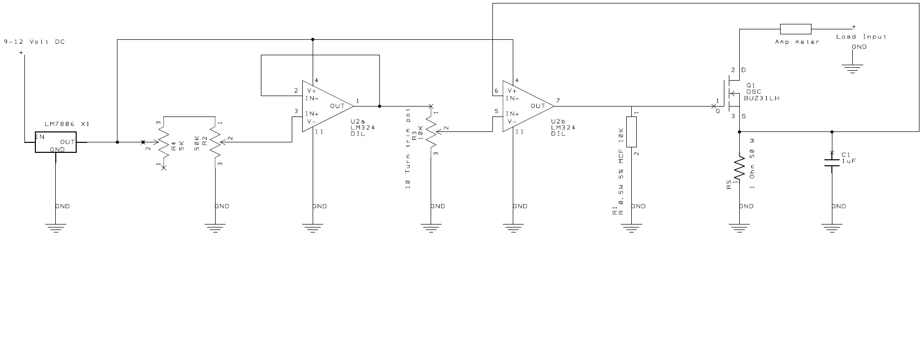 A Beefy Electronic Load P4 Wan Hung Lo Electronics Amp Meter Circuit This Is Martins