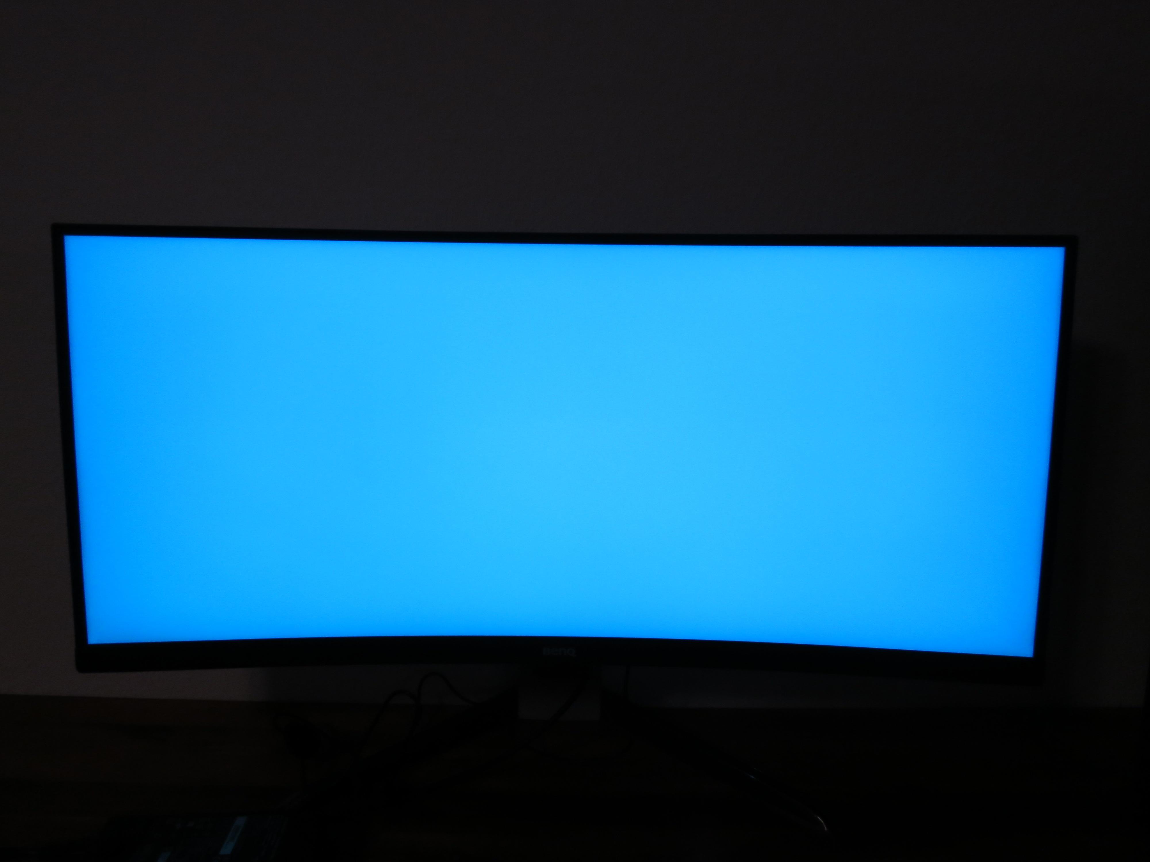 BenQ EX3501R 3440×1440 21:9 35″ Curved VA monitor (WHL #33) – Wan