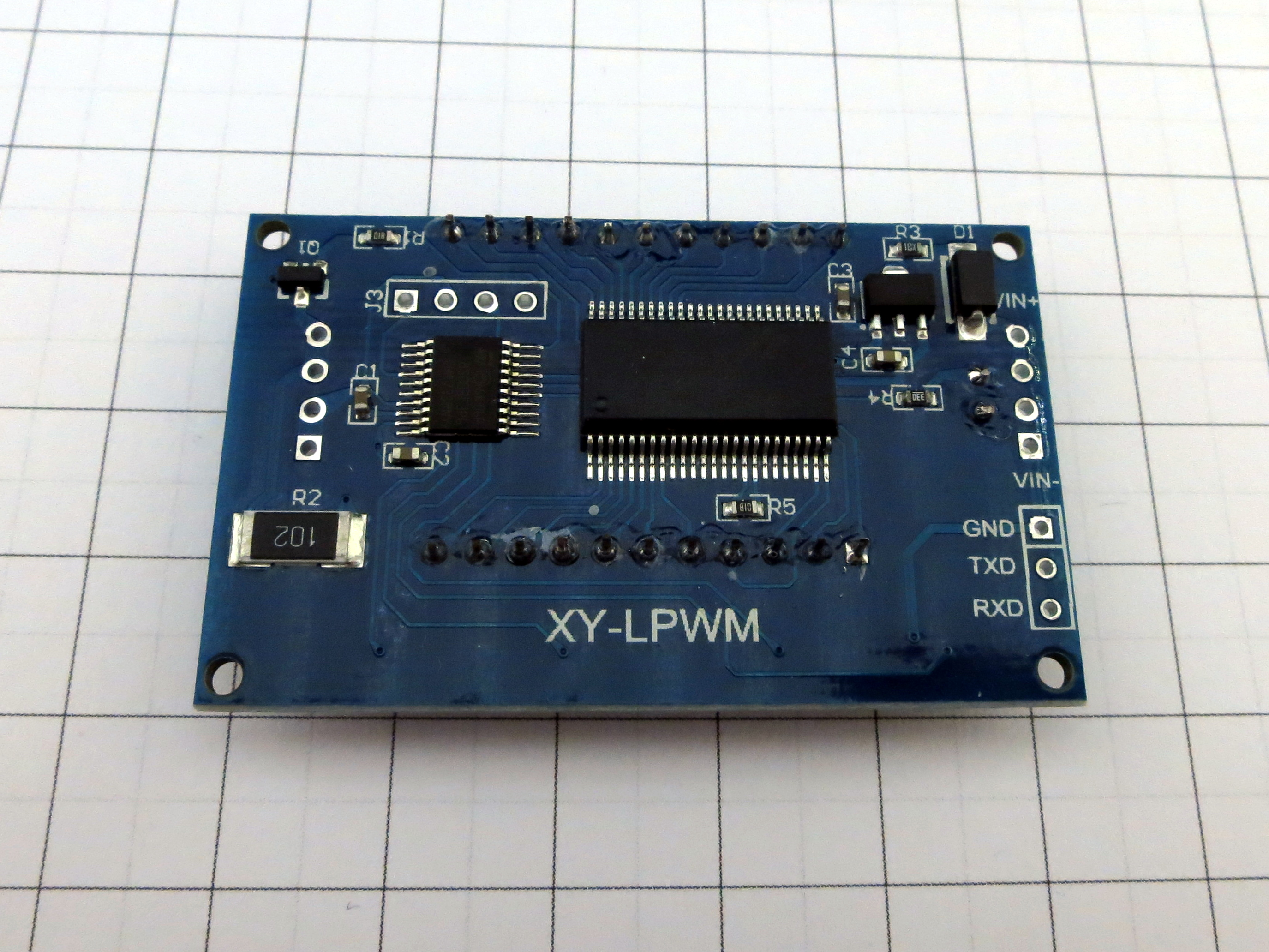 Pwm Pulse Frequency Duty Cycle Adjustable Square Wave Signal Generator Circuit With Variable Width Bare Pcb 53 Ish Centimeters Somewhat Prepared For Panel Mounting So I Could Imagine Theres Also A Version Nice Case Available Let Me Know If