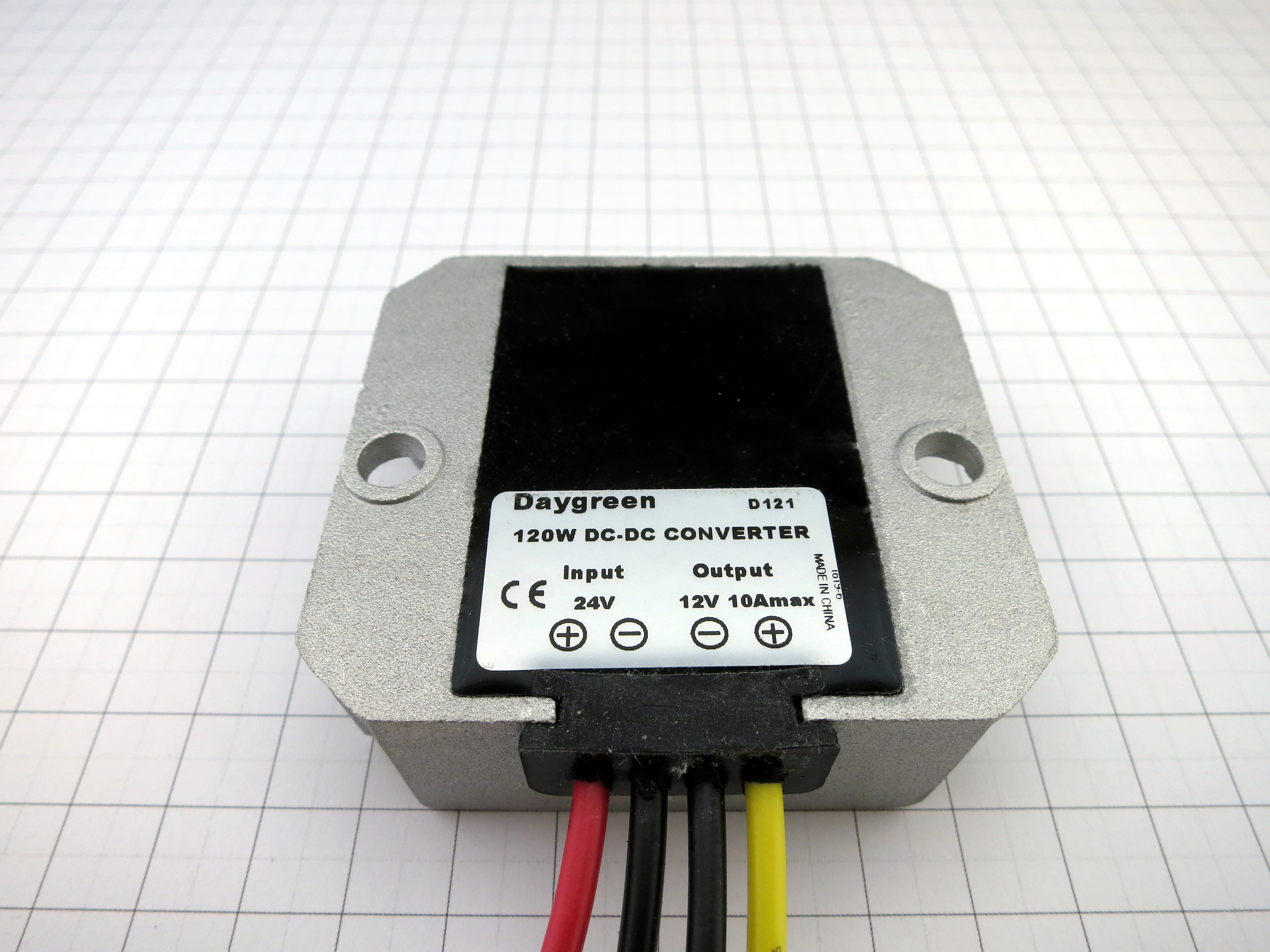 24v To 12v 5a 10a 120w Dc Converter Step Down Daygreen 1a 2a 3a High Efficiency Switch Mode 33v Now When It Comes Mounting Im Not Sure If The Back Of Unit Is Ideally Suited For Heat Transfer As You Can See Does Sit Flush Instead