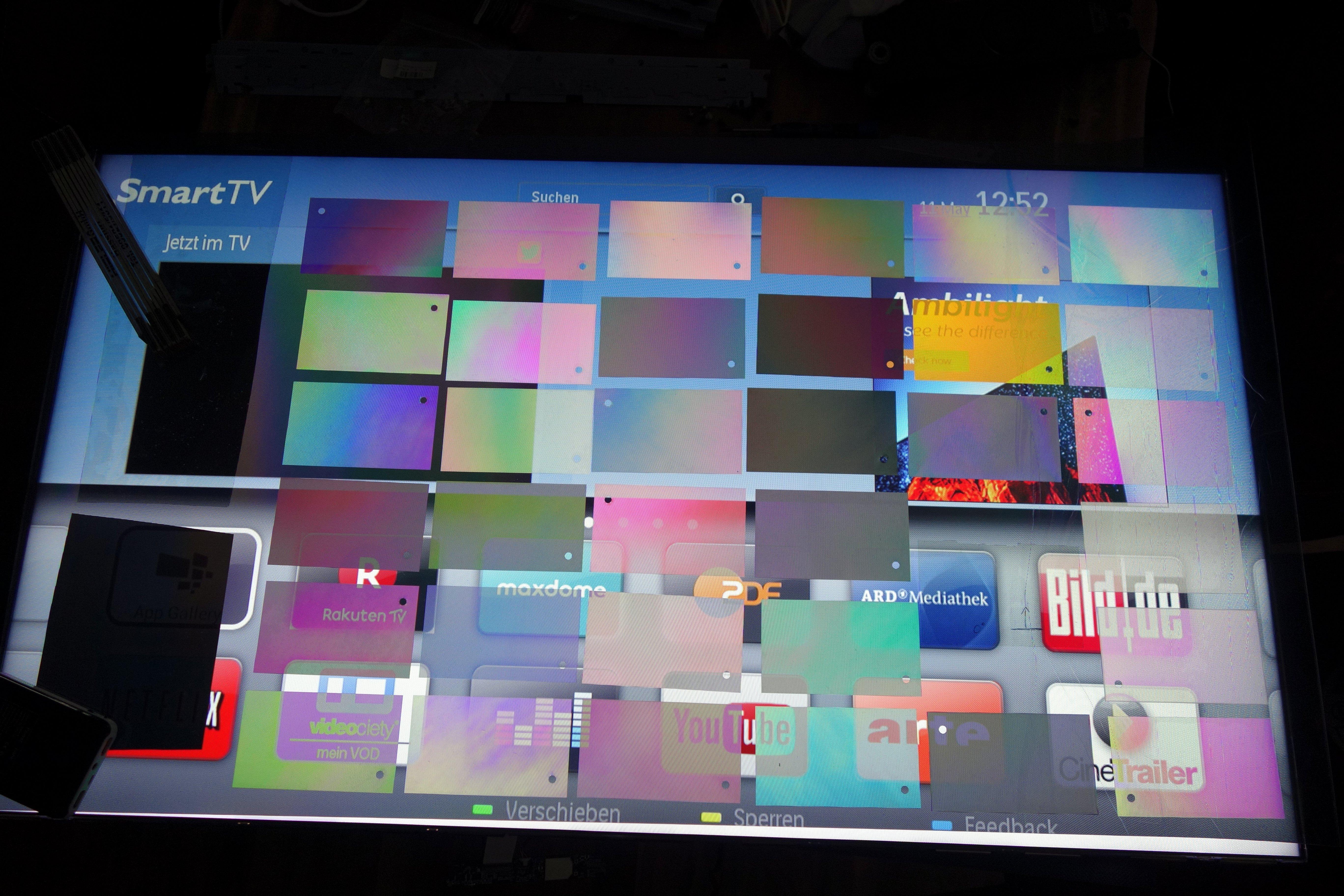 Failed Philips 46PFL8008S/12 display repair (#P15) – Wan